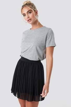 NA-KD Mini Pleated Skirt Beige