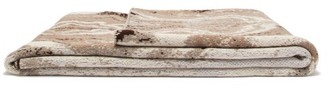 BEIGE Saved Ny - Marble Mirror Cashmere Blanket