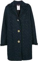 Talbot Runhof lubero coat - women - Polyamide/Polyester/Acetate/Metallized Polyester - 34