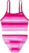 Joe Fresh Toddler Girls' x lemlem 2 Piece Tankini, Bright Pink (Size 3)