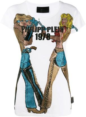 Philipp Plein Cowboy T-shirt