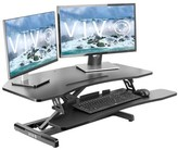 Vivo Corner Height Adjustable Standing Desk