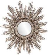 Howard Elliott Chelsea Antique Silver Starburst Mirror