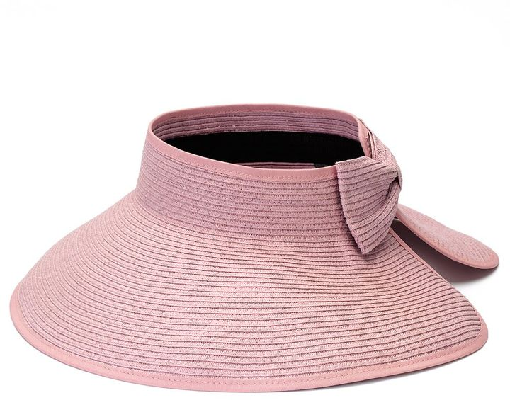 David & Young straw roll-up visor