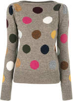 Marc Jacobs polka dot jumper
