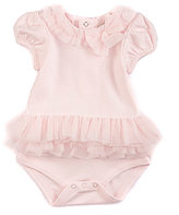 Starting Out Treasures Baby Girls Newborn-6 Months Tulle Bodysuit