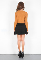 Torn By Ronny Kobo Boxy Cable Knit Sweater -