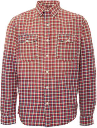 Ralph Lauren RRL Lee Checked Cotton-Twill Shirt