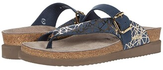 Mephisto Helen Mix (Black Waxy/Cuba) Women's Sandals