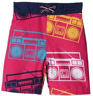 Appaman Kids Swim Trunks (Toddler/Little Kids/Big Kids) (Boombox) Boy's Swimwear