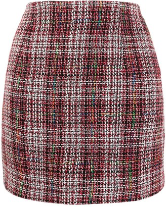Jovonna London Gilot tweed skirt