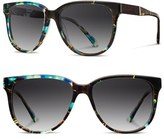 Shwood Women's 'Mckenzie' 57Mm Polarized Sunglasses - Black Olive/ Elm/ G15 Polar