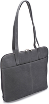 Le Donne Gray Moderno Business Leather Tote