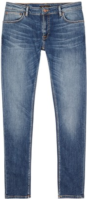 Nudie Jeans Skinny Lin light blue jeans