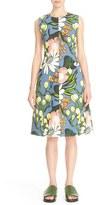 Marni Women's Madder Print A-Line Dress