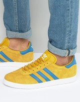 adidas Gazelle Sneakers In Yellow BB5258