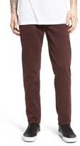 J Brand 'Tyler' Slim Fit Jeans (Distressed Eggplant)