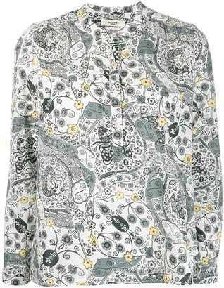 Etoile Isabel Marant Maria paisley shirt