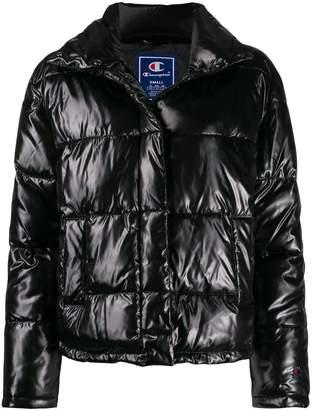 Champion panelled puffer jacket