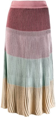 Marco De Vincenzo Ribbed Skirt