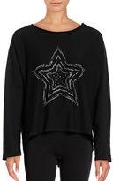 Marc New York Performance Rhinestone Pullover Sweater