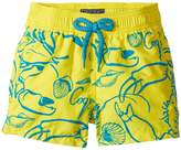 Vilebrequin Kids - Flocked Shellfish Swim Trunk Boy's Swimwear