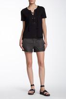Level 99 Sienna Tomboy Linen Blend Trouser Short