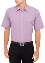 Van Heusen S/S Tattersal Check Classic Fit Shirt