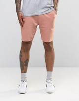 Asos Jersey Shorts In Pink