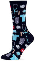 Hot Sox Medical Print Crew Socks