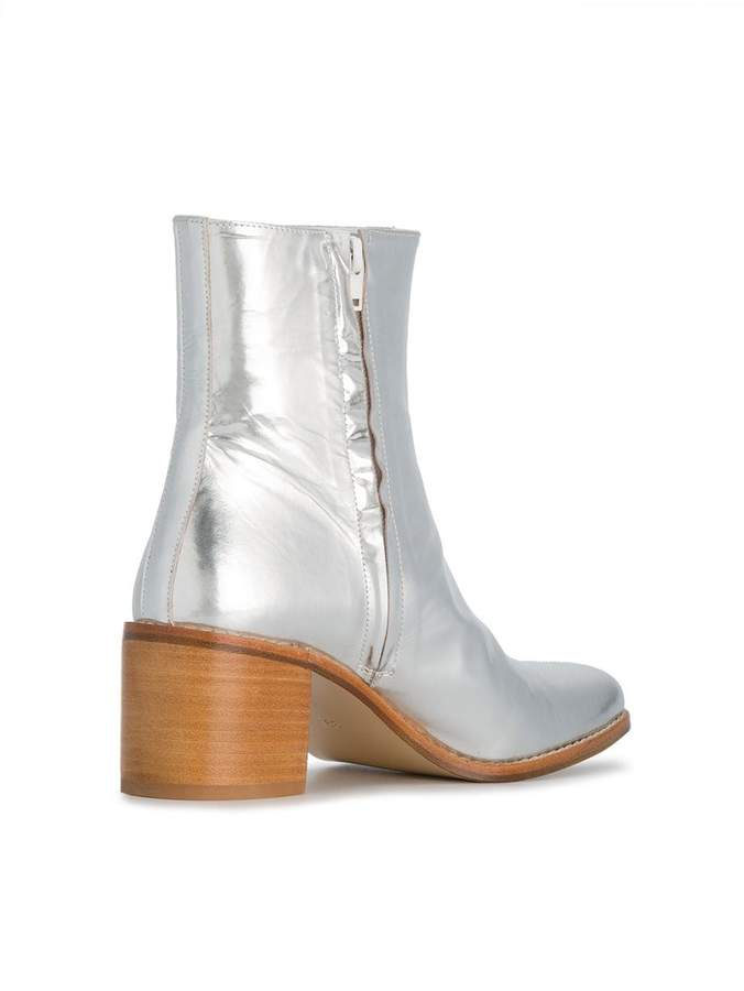 Maryam Nassir Zadeh fiorenza 60 metallic boots