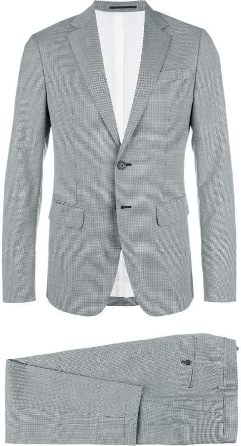 DSQUARED2 Manchester checked suit