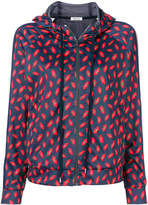P.A.R.O.S.H. kisses hooded sports jacket