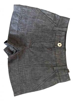 Louis Vuitton Anthracite Denim - Jeans Shorts