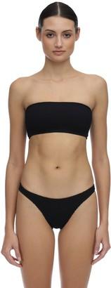 Bond Eye Seeker Seersucker Bandeau Bikini Top