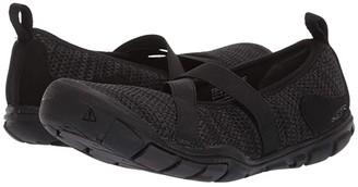 Keen Hush Knit MJ CNX (Black/Raven) Women's Shoes