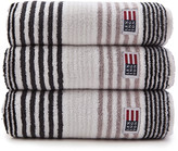 Lexington Original Striped Towel - Grey - Bath Sheet