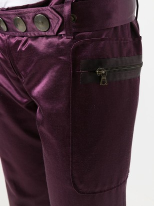 Romeo Gigli Pre Owned Wide-Legged Cropped Trousers