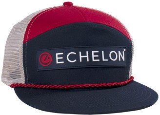 Echelon Merch Echelon 7-Panel Flatbill Meshback