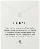 Dogeared Reminder Dream Sterling Silver Wishbone Pendant Necklace