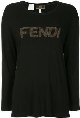 Fendi Pre-Owned Long Sleeve Top