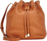 Barneys New York WOMEN'S JESSICA MINI BUCKET BAG-TAN