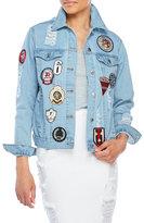 RD Style Patchwork Denim Jacket