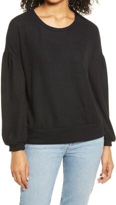 Everleigh Balloon Sleeve Sweatshirt