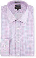 Neiman Marcus Trim-Fit Regular-Finish Check Dress Shirt