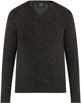 Jil Sander V-neck wool sweater