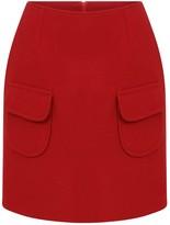 Kith & Kin Little Mini Wool Skirt With Pockets