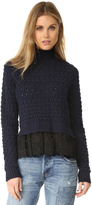 Rebecca Taylor Mock Neck Sweater