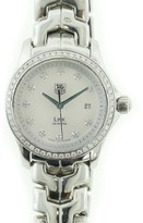Tag Heuer Link WJF1319 Stainless Steel with White Dial 28mm Womens Watch