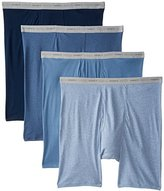 Hanes Men's 4 Pack FreshIQ Long Leg Boxer Briefs